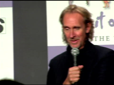 mike rutherford on whether or not they have anything to prove to the public at the announcement of genesis 'turn it on again' tour dates at... - mike rutherford stock videos & royalty-free footage