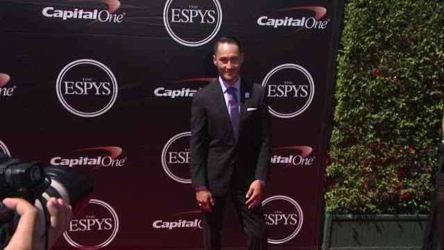 mike shea at the 2015 espys at microsoft theater on july 15 2015 in los angeles california - microsoft theater los angeles stock videos and b-roll footage