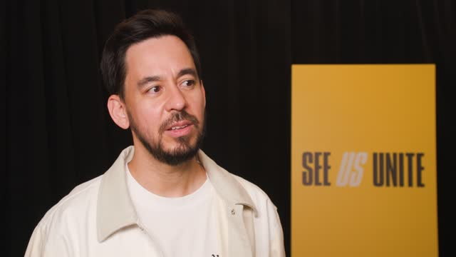 mike shinoda at see us unite for change - the asian american foundation in service of the aapi community broadcast special on may 21, 2021. - looking stock videos & royalty-free footage