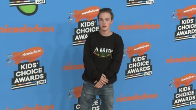 mike singer at the nickelodeon's 2018 kids' choice awards at the forum on march 24 2018 in inglewood california - 31st annual nickelodeon kids' choice awards stock videos and b-roll footage