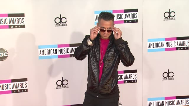 Mike 'The Situation' Sorrentino at the 2011 American Music Awards Arrivals at Los Angeles CA