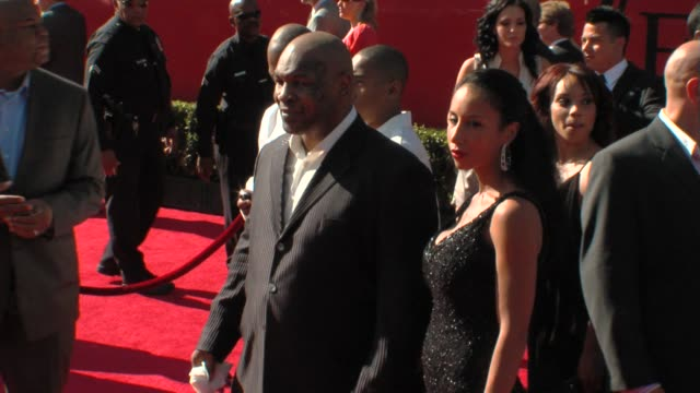 Mike Tyson at the 17th Annual ESPYs Arrivals at Los Angeles CA