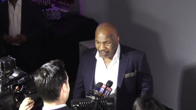 mike tyson ranch launch event on may 31, 2018 in los angeles, california. - ranch stock videos & royalty-free footage