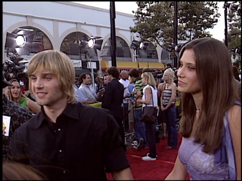 mike vogel at the 'Grind' Premiere at Grauman's Chinese Theatre in Hollywood California on August 13 2003