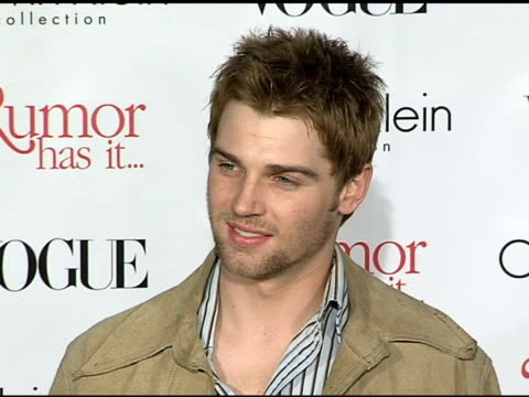 Mike Vogel at the 'Rumor Has It' World Premiere at Grauman's Chinese Theatre in Hollywood California on December 15 2005
