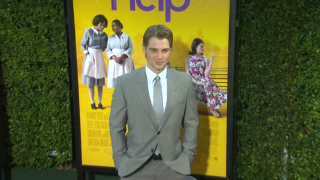 Mike Vogel at the 'The Help' Los Angeles Premiere at Beverly Hills CA