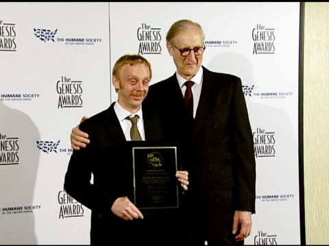 Mike White and James Cromwell at the 2008 Genesis Awards at the Beverly Hilton in Beverly Hills California on March 30 2008