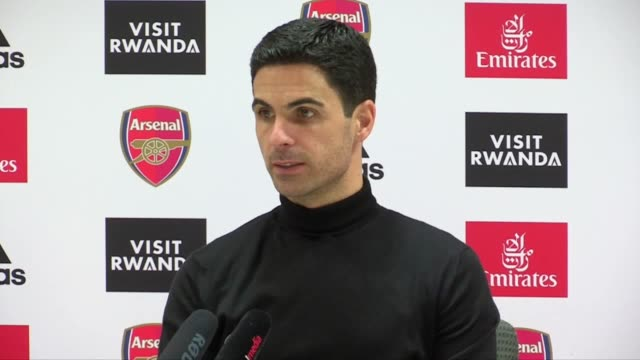 mikel arteta was left professing his disappointment after seeing his arsenal side concede a late equaliser at home to sheffield united. gabriel... - caucasian appearance stock videos & royalty-free footage
