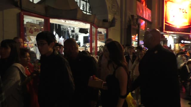 mikey madison outside jay and silent bob reboot premiere at tcl chinese theatre in hollywood in celebrity sightings in los angeles, - tcl chinese theatre stock videos & royalty-free footage