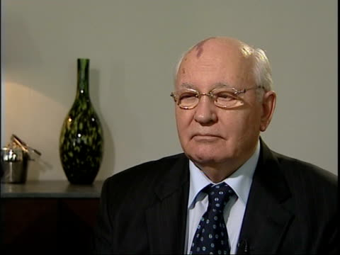 Mikhail Gorbachev interview Mikhail Gorbachev interview SOT On need for Perestroika in the USSR as well as tough stance from Thatcher and Ronald...