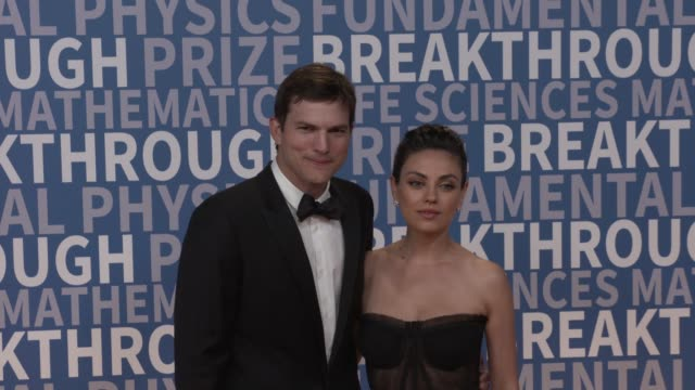 mila kunis, ashton kutcher at nasa ames research center on december 03, 2017 in mountain view, california. - ashton kutcher stock videos & royalty-free footage