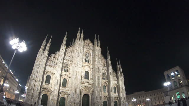 milan cathedral at italy - 1965 stock videos & royalty-free footage
