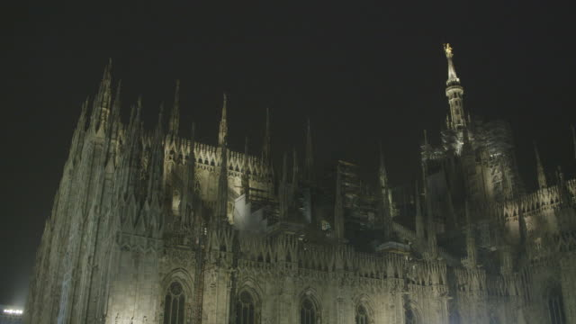 Milan Cathedral by night, Italy