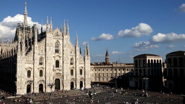 ミラノ大聖堂 - 大聖堂点の映像素材/bロール