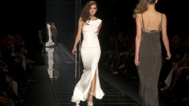 milan fashion week a/w 2010 - 2010 video stock e b–roll