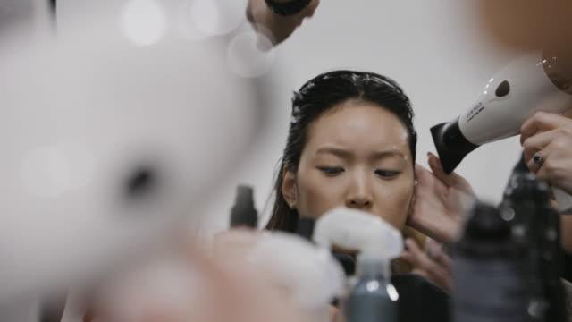 milan fashion week women's fall / winter 2020 - 2021 - anteprima on february 20, 2020 in milan, italy. - milan fashion week stock videos & royalty-free footage