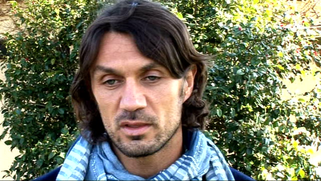 Paolo Maldini interview Maldini interview SOT One of greatest memories was winning European Cup Final against Juventus in Manchester in 2003 / Losing...