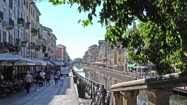 """Milan, The """"Navigli"""" district."""
