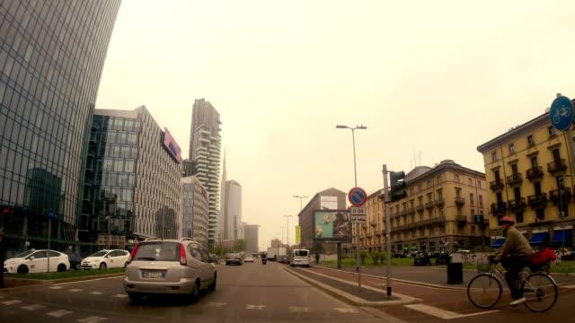 Milan traffic timelapse