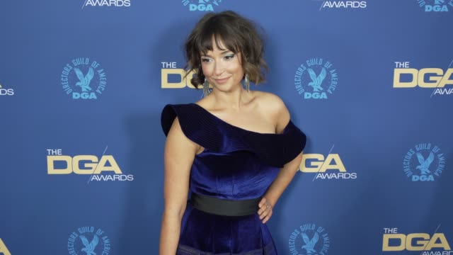 milana vayntrub at the 71st annual dga awards at the ray dolby ballroom at hollywood highland center on february 02 2019 in hollywood california - director's guild of america stock videos & royalty-free footage