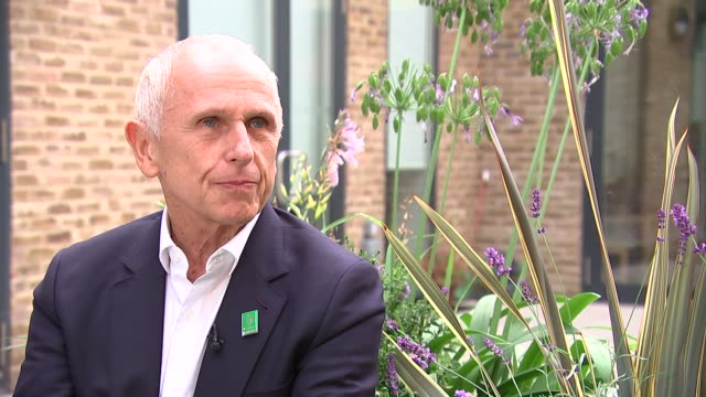 Mildmay Hospital marks 20 years since death of Diana Wayne Sleep interview SOT re Diana and HIV/AIDS legacy