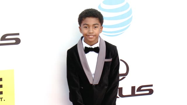 miles brown at 47th annual naacp image awards at pasadena civic auditorium on february 05 2016 in pasadena california - pasadena civic auditorium stock videos and b-roll footage