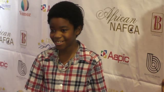 miles brown at the nollywood and african film critics' awards at the orpheum theatre in los angeles at celebrity sightings in los angeles on... - kritiker stock-videos und b-roll-filmmaterial