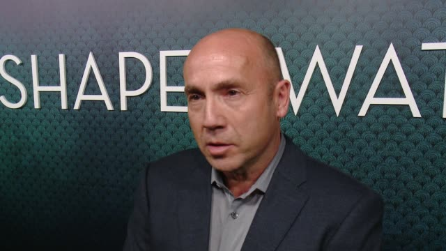 interview j miles dale on what makes this story unique what the audience can expect and talks about the cast at the shape of water los angeles... - academy of motion picture arts and sciences video stock e b–roll