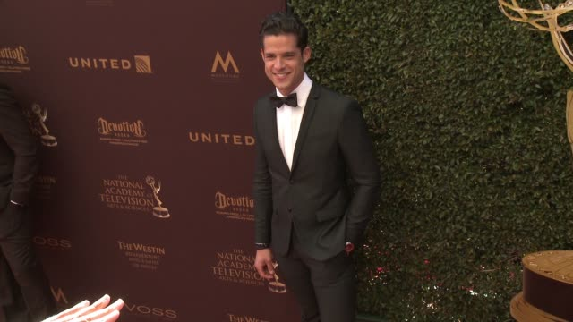 Miles Gaston Villanueva at 43rd Annual Daytime Emmy Awards at Westin Bonaventure Hotel on May 01 2016 in Los Angeles California