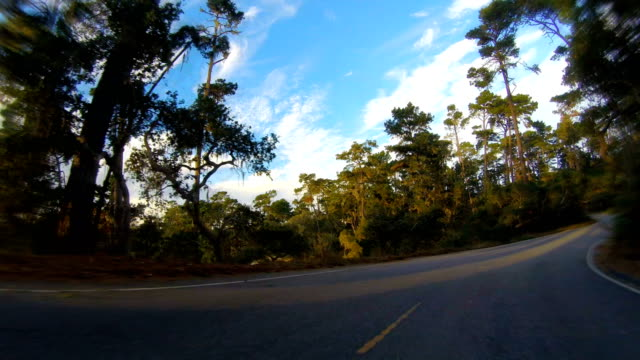 17 miles road, monterrey, california - monterey county stock videos and b-roll footage