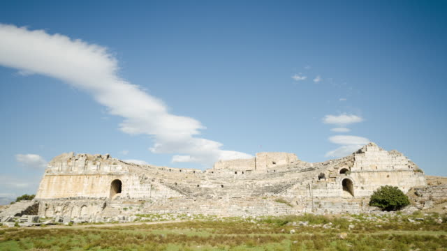 miletus ancient greek city time lapse - miletus stock videos and b-roll footage
