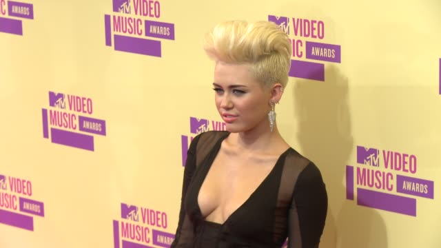 Miley Cyrus at 2012 MTV Video Music Awards on 9/6/2012 in Los Angeles CA