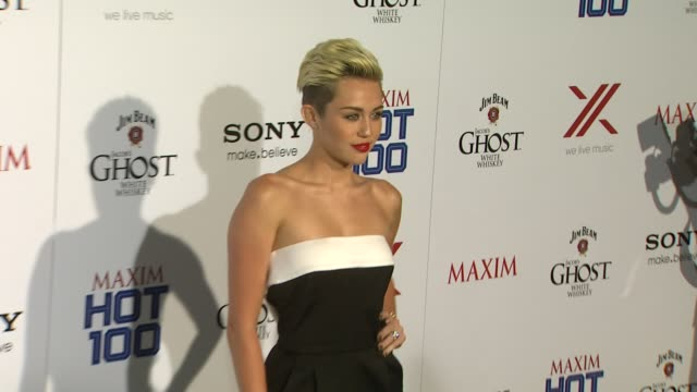 Miley Cyrus at The 2013 MAXIM Hot 100 5/15/2013 in Hollywood CA