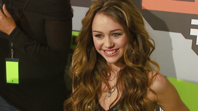 Miley Cyrus at the VH1 Big in '06 at Sony Studios in Culver City California on December 2 2006