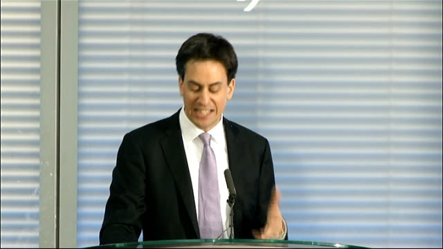 miliband speech on the new economy this will sometimes require regulation sometimes require the strengthening of markets it is true in finance where... - banking sign stock videos & royalty-free footage