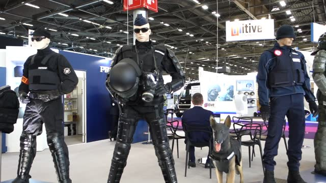 FRA: 22nd Milipol Paris Dedicated To Homeland Security And Safety Opens At Paris-Nord Villepinte Exhibition Center