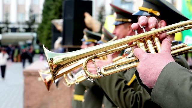 military band (военный оркестр) - clarinet stock videos & royalty-free footage