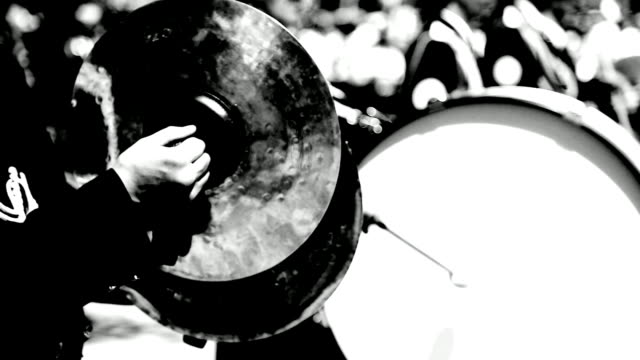 military band - cymbal stock videos and b-roll footage