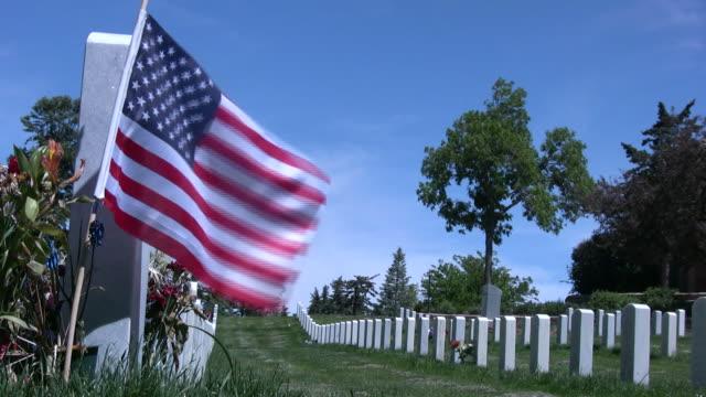 (HD1080i) Militär-Friedhof