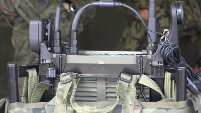military communication equipment - army stock videos & royalty-free footage
