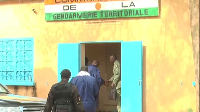 A military court in Niger on Friday handed down jail terms of between five and 15 years to nine soldiers and a civilian accused of seeking to...
