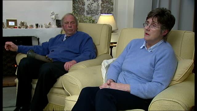 military cross of war poet wilfred owen stolen from nephew's home; england: surrey: int elizabeth owen interview as sitting next peter owen interview... - 甥点の映像素材/bロール