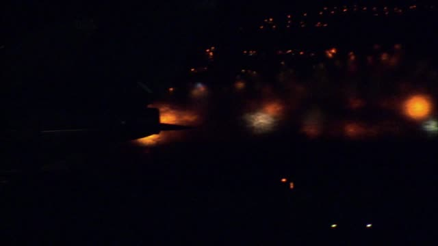 military fighter jet on a runway at night - raf stock videos & royalty-free footage