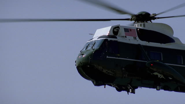 slo mo ms pan military helicopter in flight / usa - military helicopter stock videos & royalty-free footage