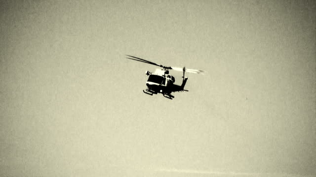 military helicopter - military helicopter stock videos & royalty-free footage