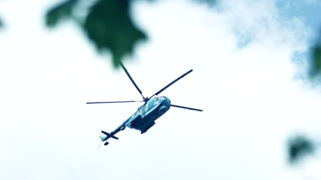 military helicopters - military helicopter stock videos & royalty-free footage