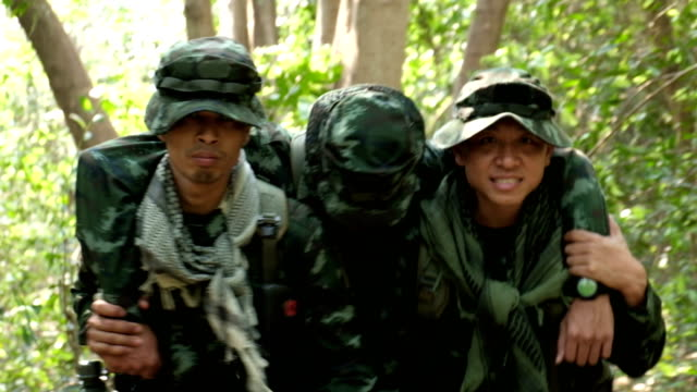 military in the field. - army exercise stock videos and b-roll footage
