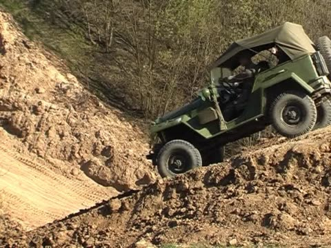military jeep - off road car stock videos and b-roll footage