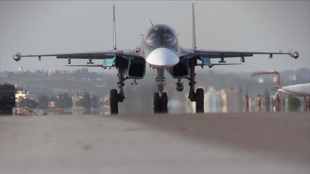 military jet - russia stock videos & royalty-free footage