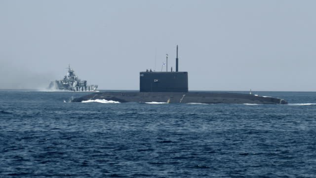 military naval exercises submarine